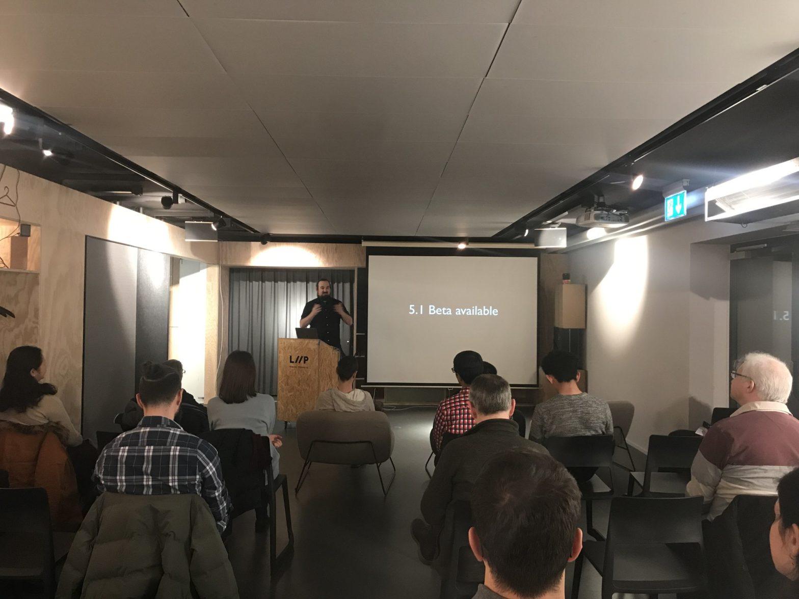 WordPress Zürich January 2019 meetup